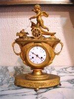 101. Антикварные Часы в стиле Ампир. 19 век. Цена 5000 евро