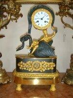 104. Антикварные Часы. Около 1840 года. 45x25x12 см. Цена 4000 евро
