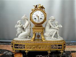 106. Старинные Каминные часы. 20 век.