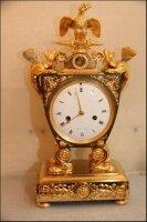 11. Антикварные Каминные часы. Ампир. 1810 год.
