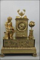 12. Антикварные Каминные часы. Ампир. 1930 год.