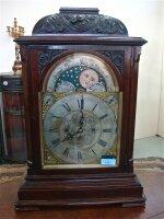24. Антикварные Настольные часы. Англия 1820 г. 55x37x81 см. 10000 евро.
