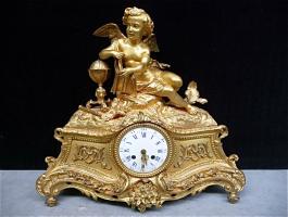 70. Антикварные Каминные часы. 19 век.