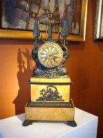 83. Антикварные Часы. Около 1800 года. 25х15х51 см. Цена 4000 евро