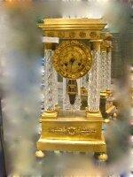 87. Антикварные Настольные часы Портики. 19 век.