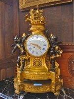 89. Антикварные Часы. Франция. 19 век. 44х25х70 см. Цена 8000 евро