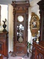 92. Антикварные Напольные часы. Около 1850 года. 263x83x43 см. Цена 5300 евро