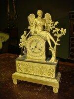93. Антикварные Часы в стиле ампир. 19 век. 41x26x10 см. Цена 2700 евро