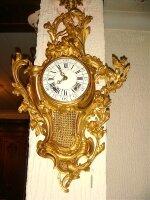 97. Антикварные Настенные часы-картель. Около 1860 года. 73x46 см. Цена 10000 евро