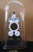 Антикварные Часы Скелетон под стеклянным куполом. 1830-1860 гг. Купол 50 см. Часы 38 см. Цена 2500 евро