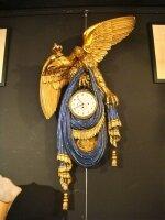 Русские антикварные настенные часы. 19 век. 113x55 см. Цена 12000 евро