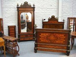 24. Антикварный Гартинур для спальни. 19 век. Цена 15000 евро.