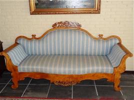 41. Антикварный Диван. Около 1870 года. 210х110х64 см. Цена 3500 евро
