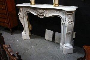 21. Антикварный портал для камина. 19 век.