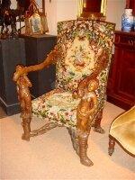40. Кресло антикварное. 19 век. Цена 5000 евро