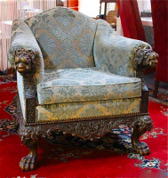 62. Антикварное Кресло. 19 век. Цена 2000 евро