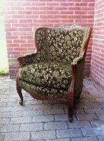 Кресло антикварное. Crapaud. 19 век