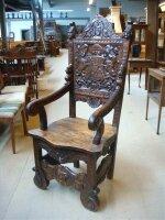 Кресло Около 1870 г. 60x60x138 см. Цена 1900 евро