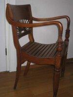 Антикварное резное кресло. Тиковое дерево.