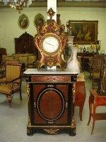 128. Антикварный Комод Буль с барометром. 19 век.