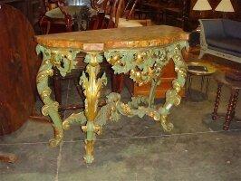 143. Антикварный Консольный столик. Около 1800 г. Цена 15000 евро.
