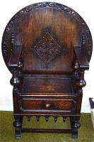 150. Антикварное Кресло-столик. Около 1800 г. Цена 2000 евро.