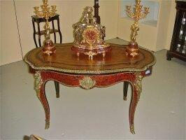 186. Антикварный Письменный стол Буль. Около 1870 г. Цена 5900 евро.