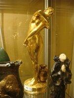 212. Антикварная Скульптура из бронзы. 19 век.