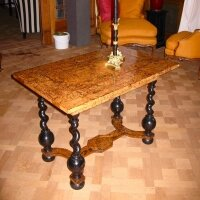 213. Антикварный Стол. Около 1680 г. 100x64x70,5 см.