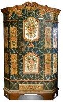 234. Антикварный Шкаф платяной. Прованс. 19 век. 188x120x52 см. Цена 13 000 евро.