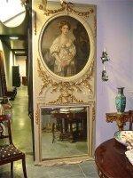 249. Антикварное Зеркало 19 век.