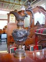282. Антикварный Кувшин из бронзы. 19 век. Высота 95 см. Цена 4000 евро