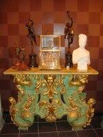 306. Антикварный Стол. 18-19 век. 130х58х102 см. Цена 8000 евро