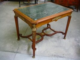 44. Антикварный Столик ампир. Около 1880 года. 102х72х76 см. Цена 2500 евро.