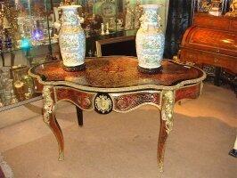 45. Антикварный Стол Буль. Около 1860 года. Цена 5000 евро.