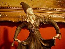 62. Бронзовая антикварная скульптура. XIX век.