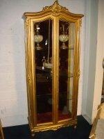 82. Антикварная Витрина. Около 1900 года 207x84x42 см. Цена 3000 евро.