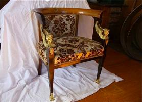 85. Антикварный Гарнитур: диван, крестол, стол. 1850 г. 5000 евро. (№ 1)