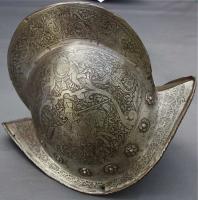 127. Старинный Испанский шлем. Около 1600 года.