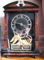 Настольные антикварные часы. 1680 г. Голландия. Гаага. Мастер - Johannes van Ceulen