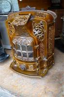 Антикварная Печь. 1914 год. GODIN. 70x56x30 cм. Цена 1500 евро
