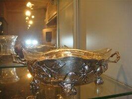 21. Старинная Серебряная ваза. Около 1900 года.