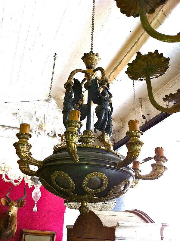 Люстры антикварные и старинные, 17 18 19 века