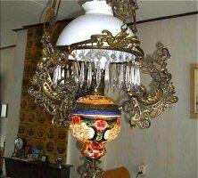2. Антикварная Керосиновая лампа. 1880 год. Цена 500 евро.