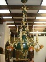 44. Антикварная Люстра в стиле Ампир. 19 век. 150x80 см. Цена 8000 евро