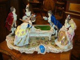 Антикварная Фарфоровая фигурка 19 век. 55x29x30 см. 4500 евро