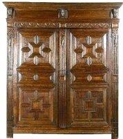 42. Антикварный Шкаф. 18 век.