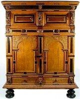 48. Антикварный Шкаф. 18 век.