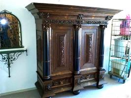 53. Антикварный Шкаф. 18 век.