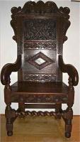 69. Антикварное Кресло. 17 век. Цена 1500 евро.